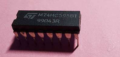 Schieberegister 74HC595