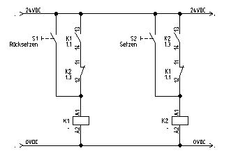 rs flipflop mit relais. Black Bedroom Furniture Sets. Home Design Ideas